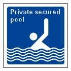 private secured pool